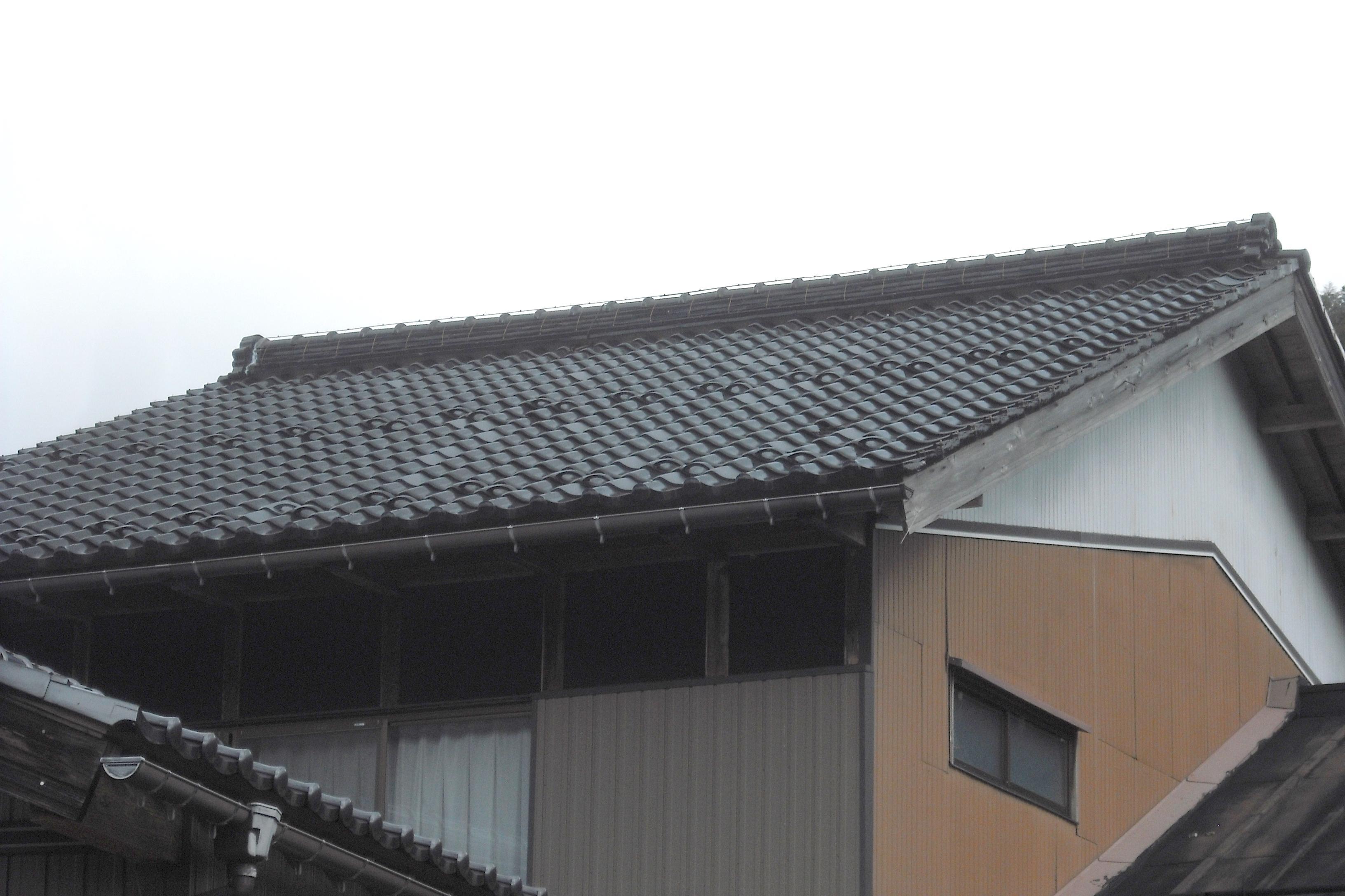 岐阜県 屋根修理 棟修理