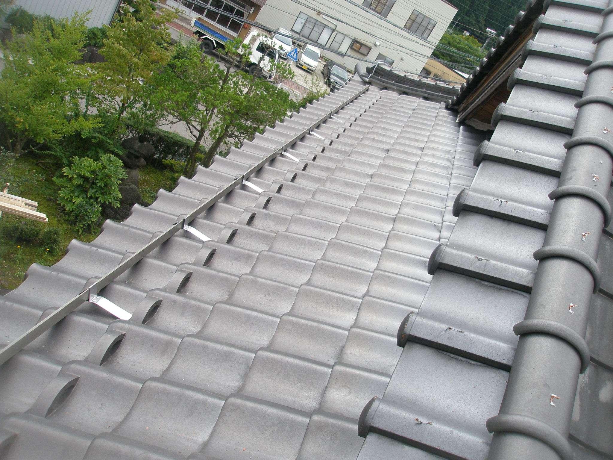 岐阜県 渡辺瓦店 屋根修理
