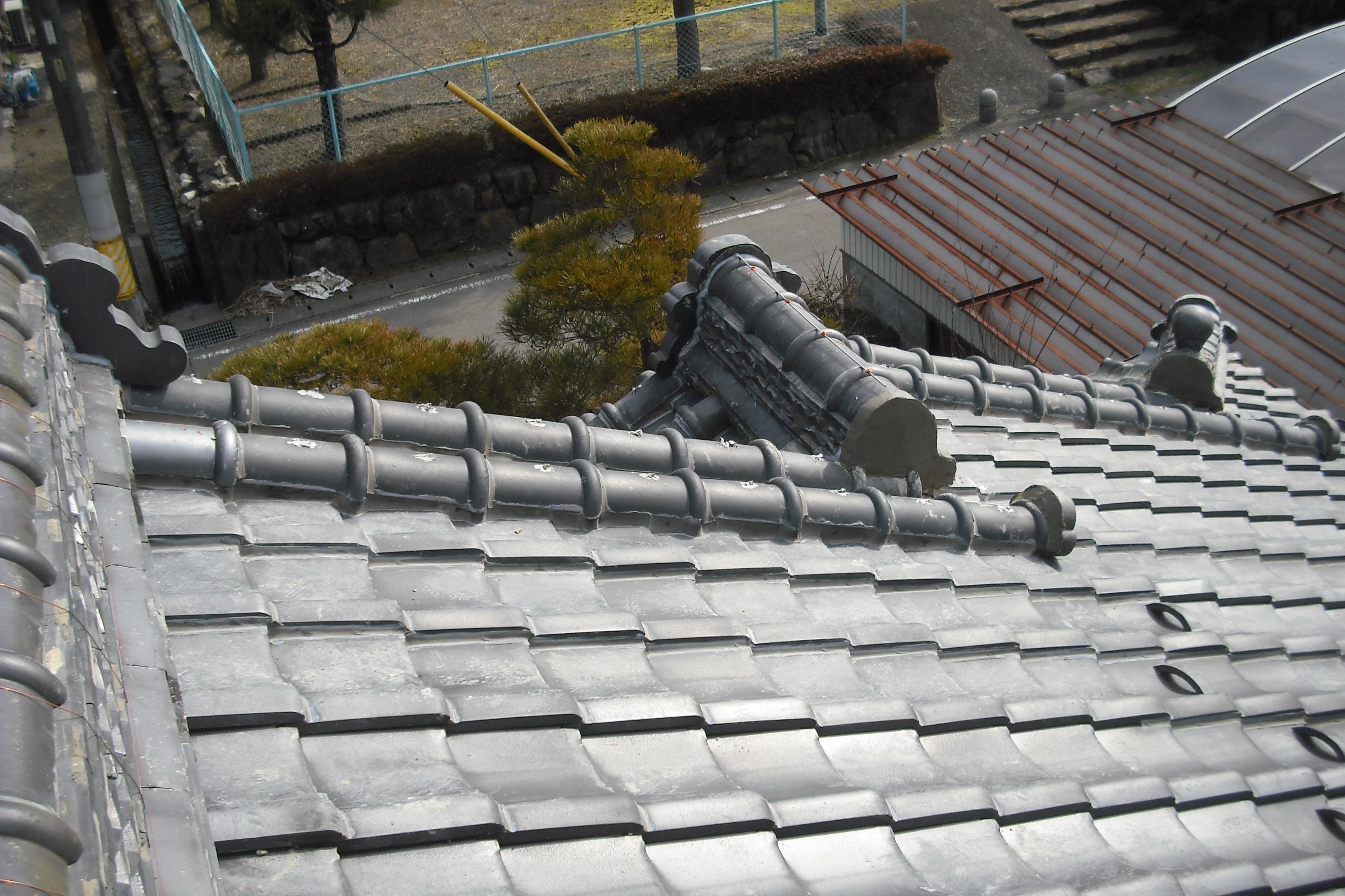 岐阜県 屋根修理 ラバーロック 渡辺瓦店