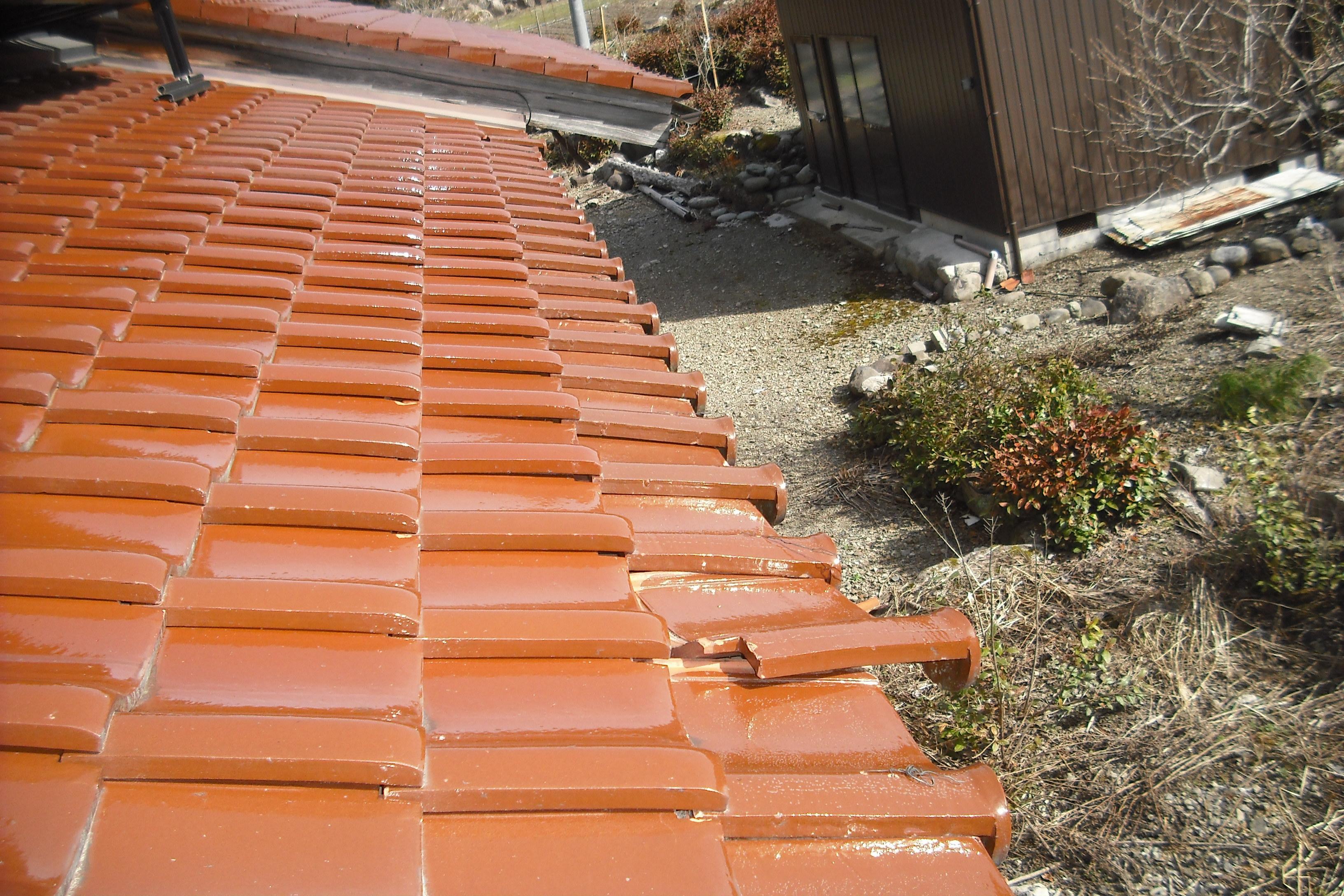 岐阜県 屋根修理  渡辺瓦店