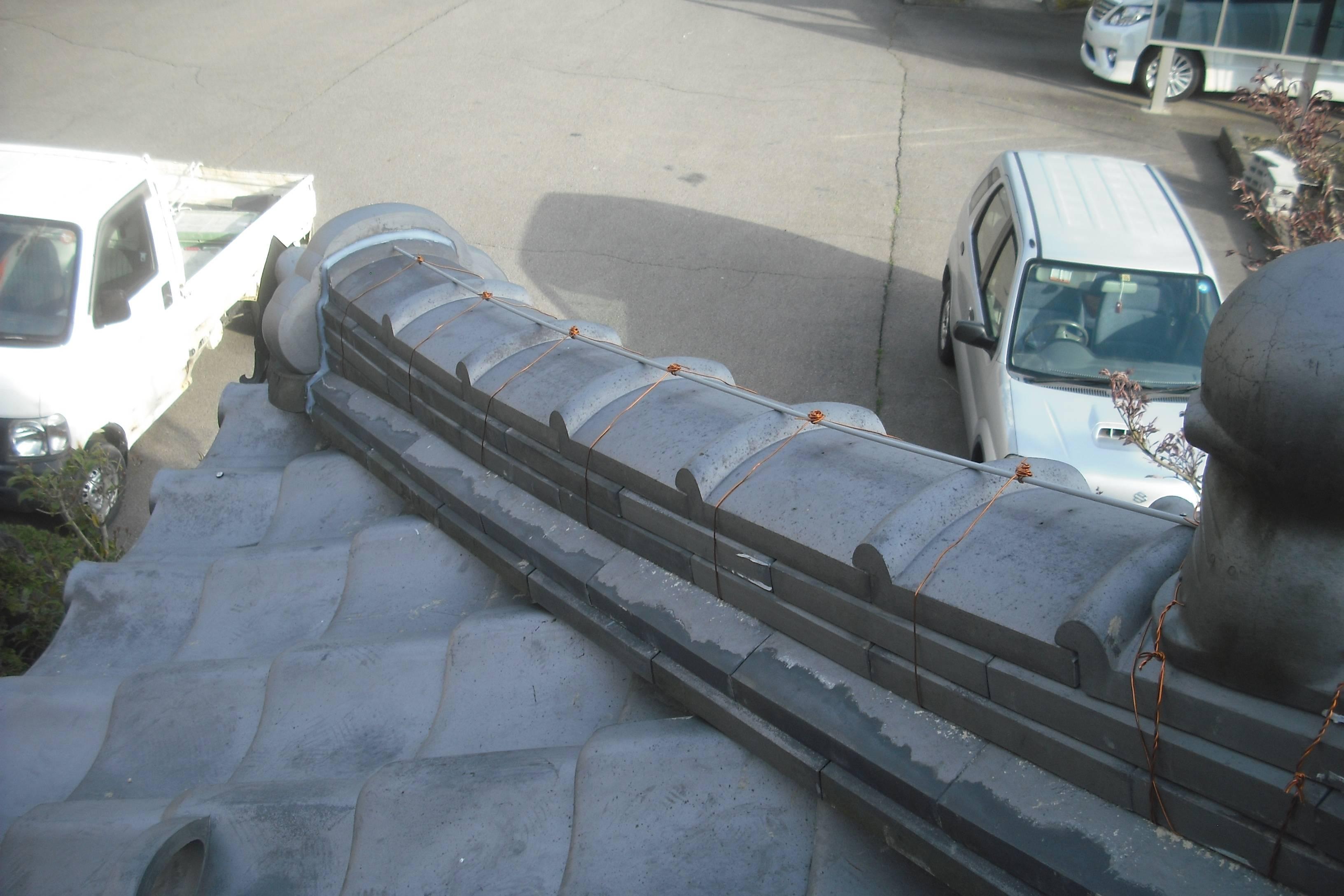屋根修理  渡辺瓦店