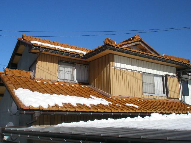 岐阜県 屋根修理 黄金瓦
